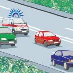 Движение транспортных средств со специальными сигналами